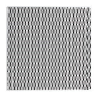 "! DIFFUSER SUPPLY PERFORATED T BAR 20""x20"" WHITE ACCORD (4)"