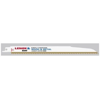 BLADE WOOD CUTTING (5 PACK) 6 TEETH TITANIUM EDGE LENOX