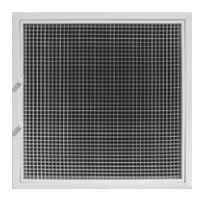 "! GRILLE FILTER T BAR 20""x20"" WHITE ACCORD (4)"