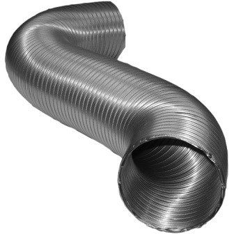 "DUCT ALUMINUM 4""x25' SEMI RIGID FLEXIBLE DEFLECTO (3)"