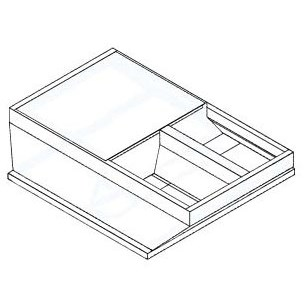ADAPTER CURB 1-7010-4000 MICRO METL