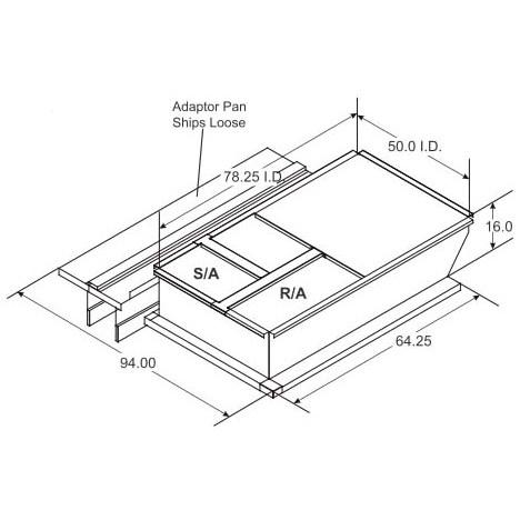 ADAPTER CURB 1-4510-4005 MICRO METL, item number: 0823-6700DT