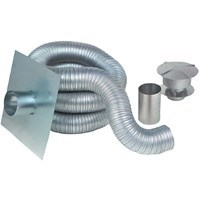 "KIT CHIMNEY LINER ALUMINUM 6""x25' Z FLEX (15)"