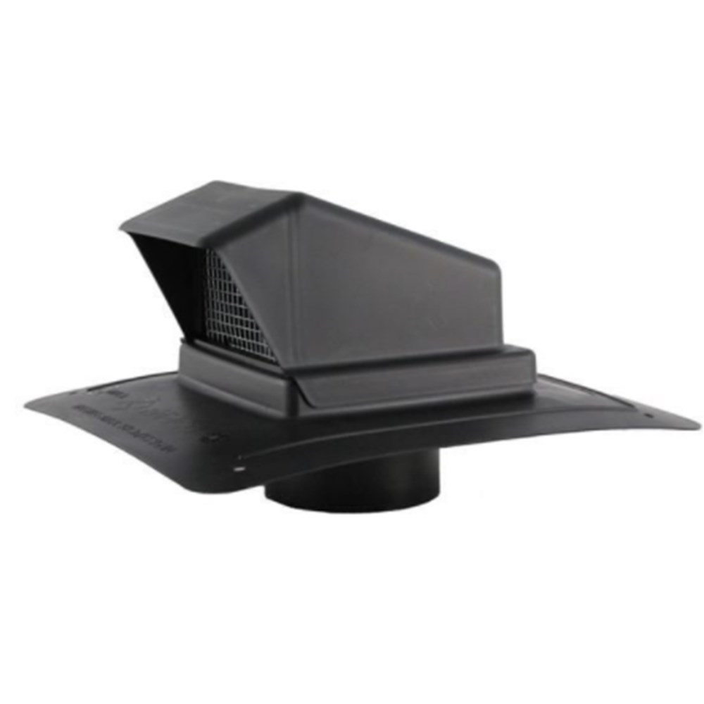 ROOF EXHAUST VENT PLASTIC WITH STEM FAMCO (12), item number: BVDS4BK