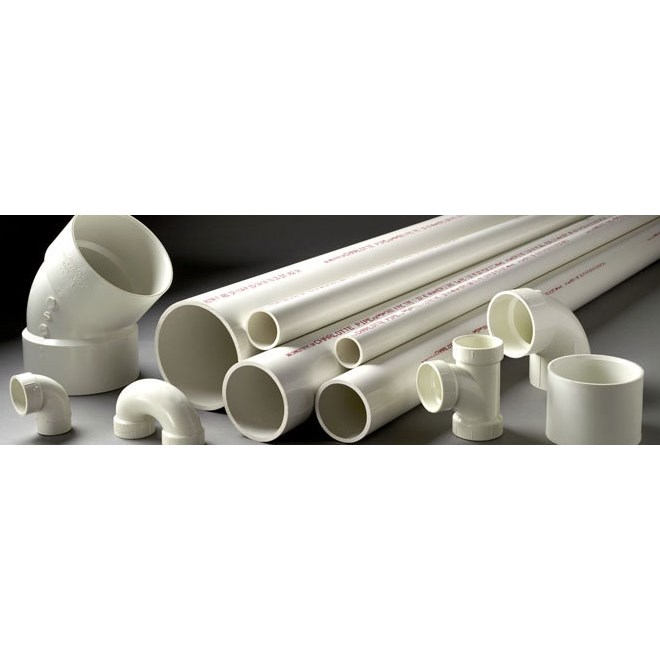 PIPE PLASTIC PVC 1inx10ft (150), item number: PVC-1