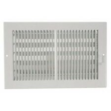 """! REGISTER WALL 10""""x4"""" WHITE CONTRACTOR SERIES  (20)"""
