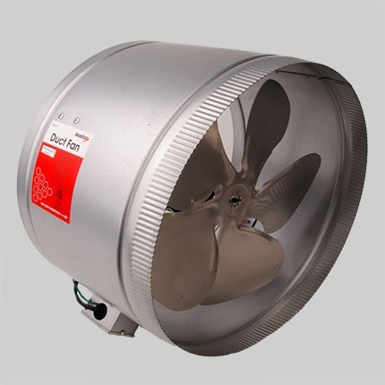 "FAN BOOSTER 1500cfm 14"" UL LISTED"