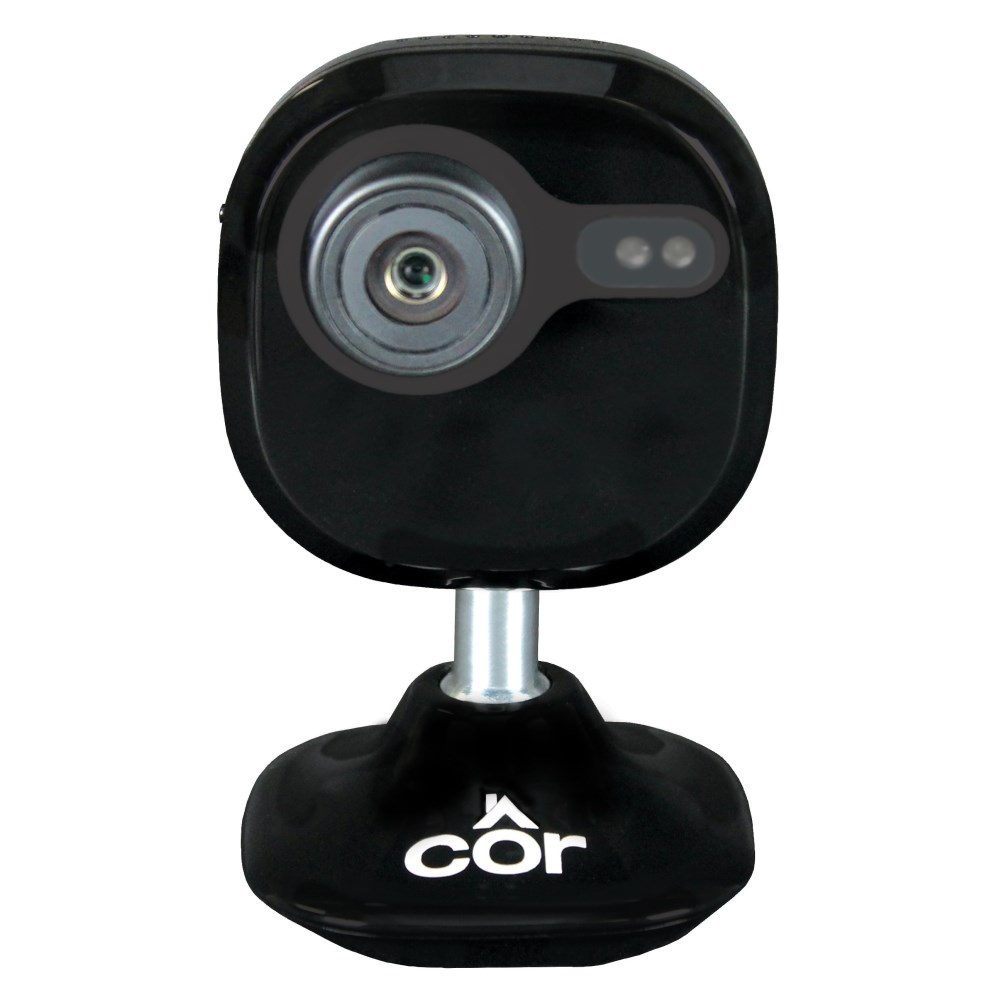 INDOOR CLOUD CAMERA BLACK WI-FI 1080P COR