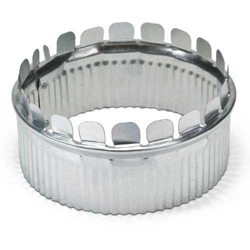 COLLAR TOP START A 6in CRIMPED HEATING & COOLING (50), item number: DA-6