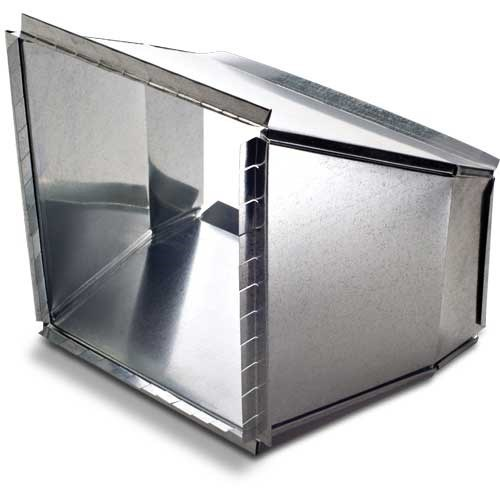 """TRANSITION DUCT 12""""x8"""" HEATING & COOLING (6)"""