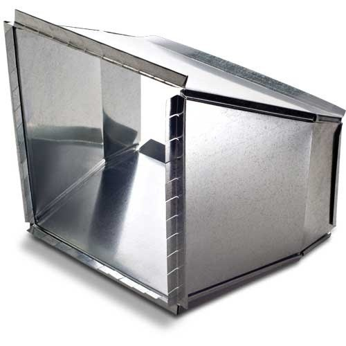 TRANSITION DUCT 24inx8in HEATING & COOLING (2), item number: DC112-24X8
