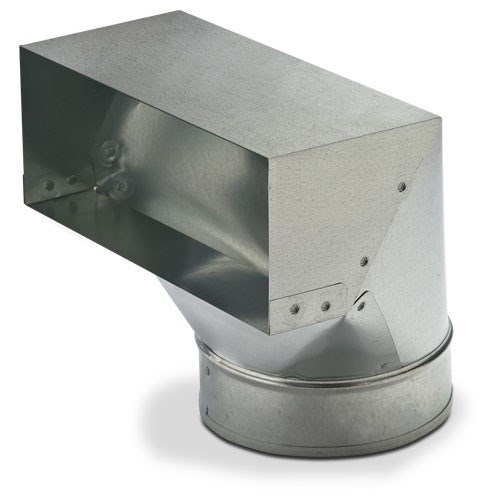 """BOOT 90 DEGREE 4""""x12""""x8"""" HEATING & COOLING (12)"""