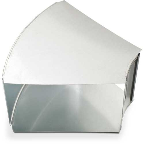 """ANGLE DUCT FLAT 24""""x8"""" HEATING & COOLING (6)"""