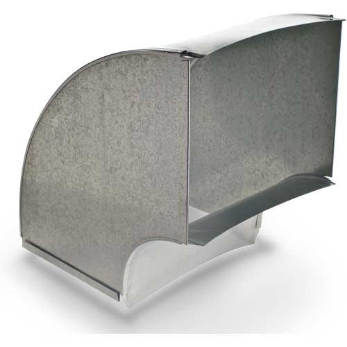 """ELBOW DUCT VERTICAL 24""""x8"""" HEATING & COOLING 90 DEG (3)"""