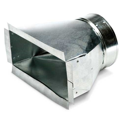 "PAN REGISTER 6""x10""x6"" HEATING & COOLING (25)"