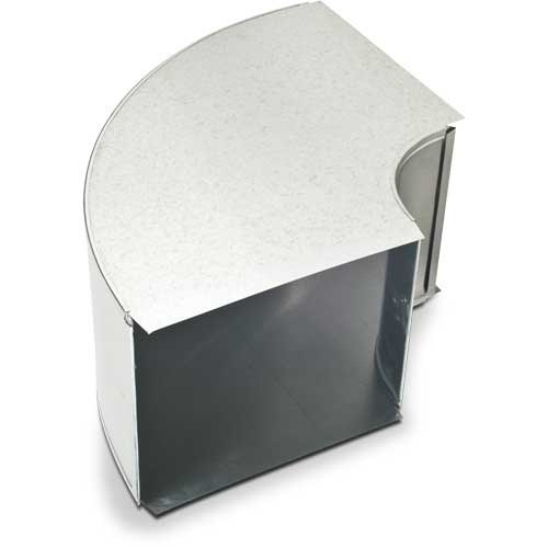 "ELBOW DUCT FLAT 24""x10"" HEATING & COOLING 90 DEG (8)"