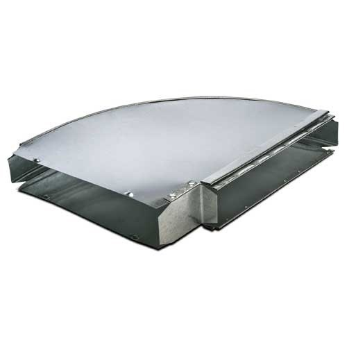 ELBOW STACK FLAT 3inx10in HEATING & COOLING 90 DEG (14), item number: DC7-3X10