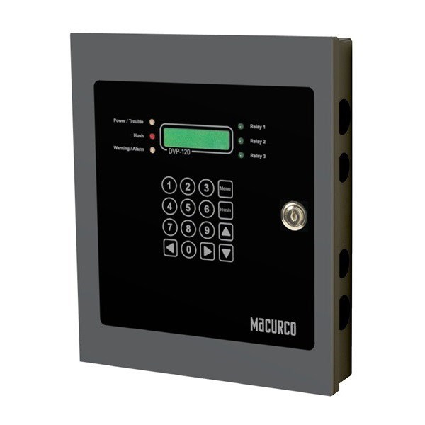 CONTROL PANEL 120V 12 INPUTS 3 RELAYS MACURCO AERIONICS