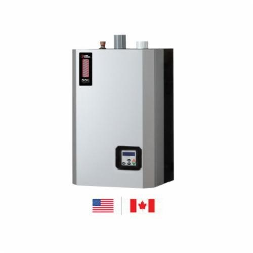 BOILER WALL MOUNTED STAINLESS STEEL 30-150 MBH 95% UTICA, item number: UBSSC-150