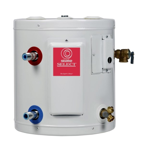 WATER HEATER 6 gal ELECTRIC STATE 120V, item number: ES66SOMSK