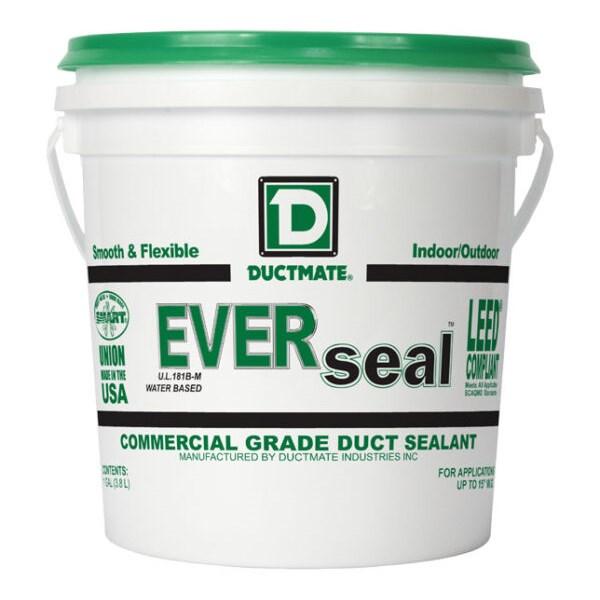 DUCT SEALER WATER BASED INDOOR OUTDOOR 1 gal DUCTMATE (4)