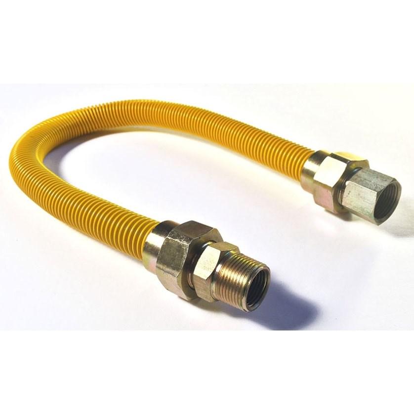 """CONNECTOR FLEXIBLE GAS 3/4"""" x 24"""" DORMONT FALCON"""