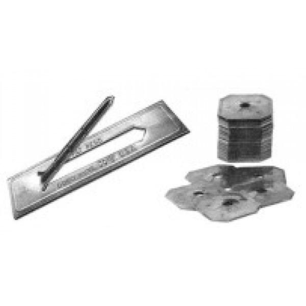 HANGER FLIPSTIX GALV (100 PACK) DURO DYNE (10), item number: FSG-250