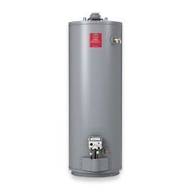 WATER HEATER 40 gal 40 mbh NAT GAS TALL SIDE TAP STATE