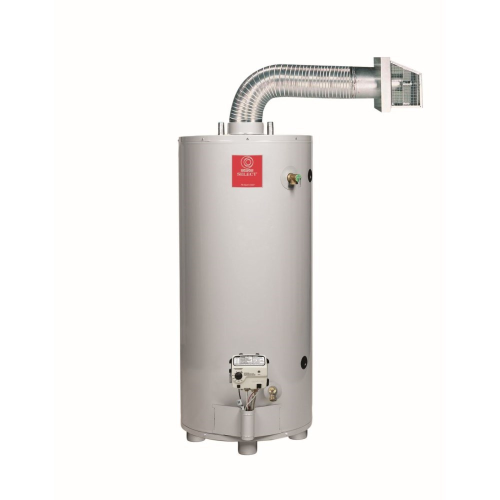 WATER HEATER 50 gal 40 mbh NAT GAS DIRECT VENT STATE, item number: GS650YBDS