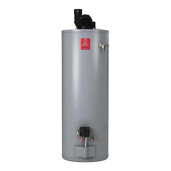 WATER HEATER 50 gal 65 mbh NAT GAS POWER DIR VENT STATE SIDE
