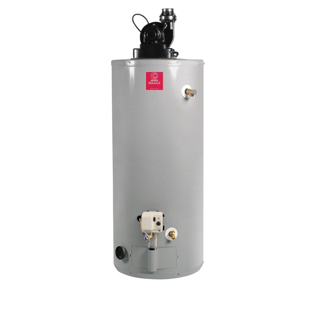 WATER HEATER 50 gal 50 mbh NAT GAS POWER VENT STATE