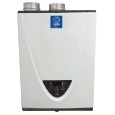 WATER HEATER TANKLESS 95% EFF 160 mbh PVC VENTED LP STATE