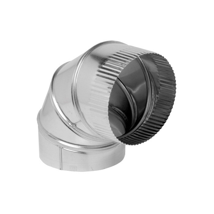 ELBOW GALV 8in 28 ga HEATING & COOLING 90 DEG (12), item number: D28-8X90
