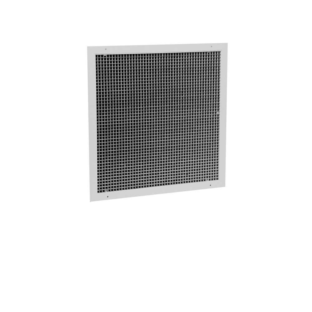 "GRILLE RETURN 16""x16"" EGGCRATE WHITE HART & COOLEY"
