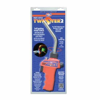 HAND TORCH SELF IGNITING LP OR MAPP TWISTER 2 UNIWELD, item number: HT44