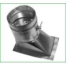 TAKE OFF HIGH EFFICIENCY 6in TO 5inx9in W/ DAMPER GREENSEAM (30), item number: HT6GA26D