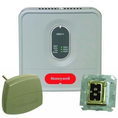 SYSTEM KIT TRUEZONE 1 HEAT 1 COOL HONEYWELL, item number: HZ311K
