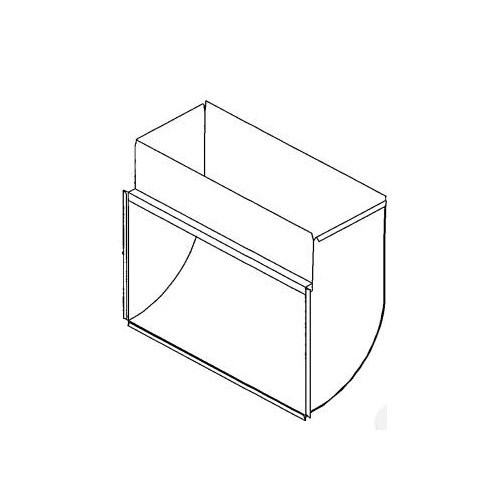 BOOT RETURN AIR NO RACK 24inx8in HEATING & COOLING, item number: DC114-24X8