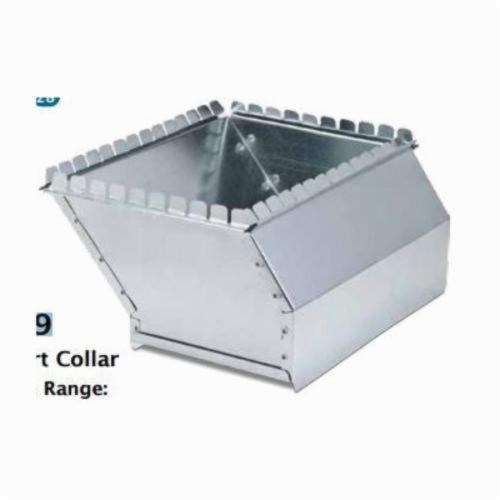 "COLLAR DUCT WITH 2"" RISE 10""x8"" HEATING & COOLING (8)"