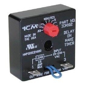 TIME DELAY RELAY ON MAKE ICM CORPORATION (10)