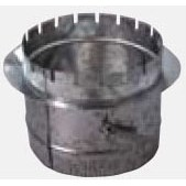 "DUCTBOARD COLLAR 6"" WITH DAMPER JONES"