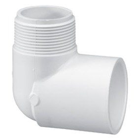 ELBOW STREET PVC 3/4in MPTxS 90 DEG (50), item number: C85607