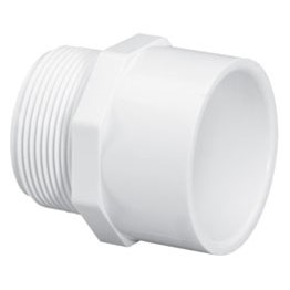 ADAPTER MALE PVC 3/4in MPTxS (50), item number: C85003
