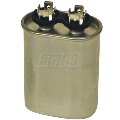 CAPACITOR RUN (12907) 7.5mfd 370v OVAL MARS