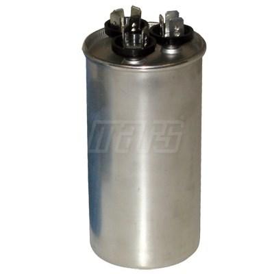 CAPACITOR DUAL RUN (12895) 60/5mfd    370v ROUND MARS, item number: M12195