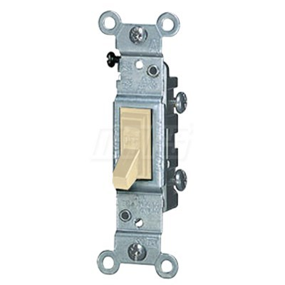 SWITCH TOGGLE WITH GROUND 15amp 120v MARS, item number: M84800