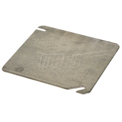 COVER BOX STEEL SQUARE FLAT BLANK 4inx4in MARS (25), item number: M84962