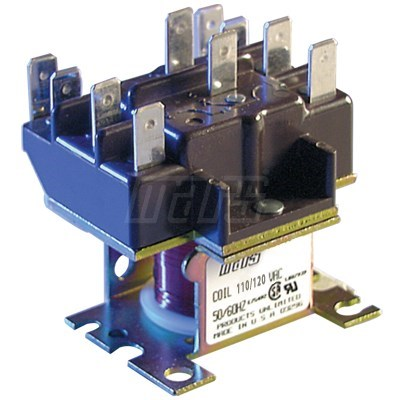 RELAY DPDT 15amp CONTACT 24v COIL MARS (10)