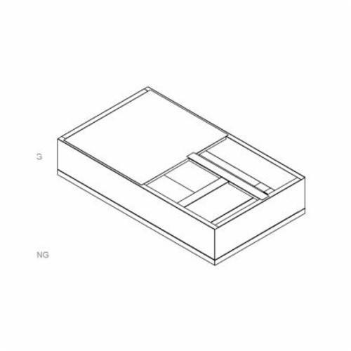 ADAPTER CURB 69-1/8inx36-3/8in 1-4510-4000 MICRO METL, item number: 0821-2527DT