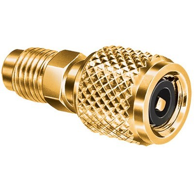 """ACCESS VALVE ADAPTER 5/16 QC TO 1/4"""" SAE QUICK COUPLER J/B IND"""